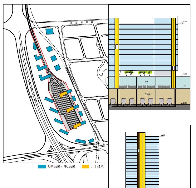 [江苏]无锡市地铁1号线商业综合体设计方案