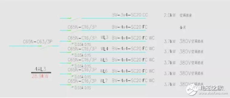 配电箱系统图符号大全_3