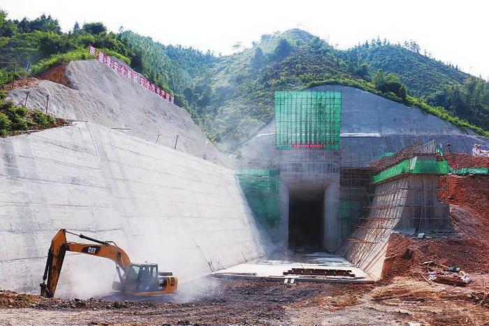 某水电站左1#、2#导流隧洞工程施工组织设计