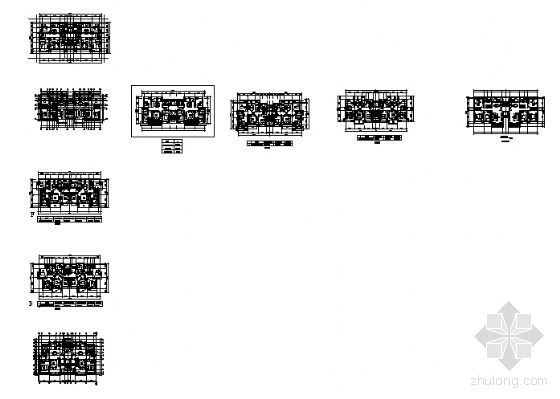8种1梯2户住宅户型设计