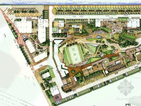 [上海]青年公寓总体景观设计方案