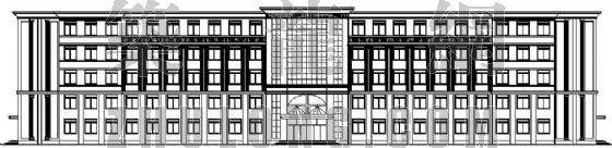 某镇职业中专教学楼建筑设计方案