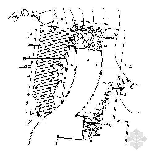 木平面台及屋顶花园详图-3