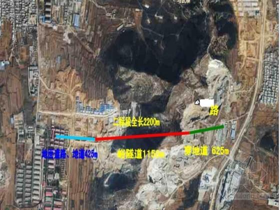 [山东]公路隧道及路基石方爆破开挖施工设计方案