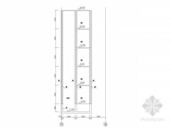 教学楼外挂电梯改造结构施工图