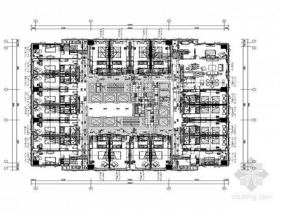 [福建]国际知名连锁五星酒店给排水施工图纸