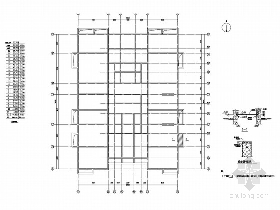[北京]21层国贸宿舍楼装修改造结构施工图