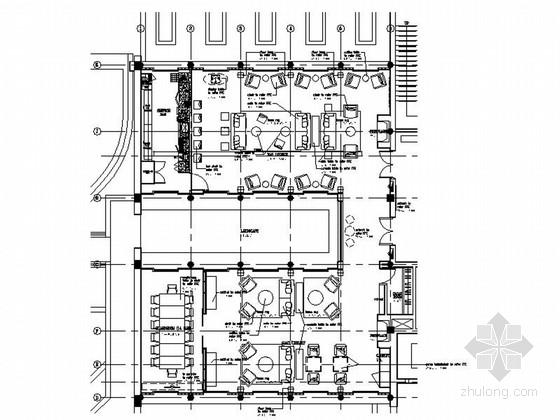[浙江]城市湿地豪华五星级现代酒店室内装修施工图(含效果实景)