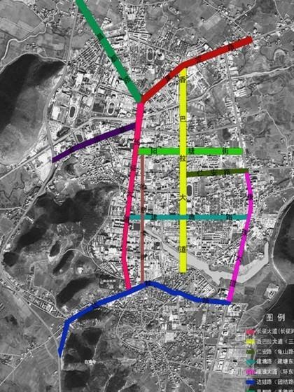[香格里拉]道路街景规划方案