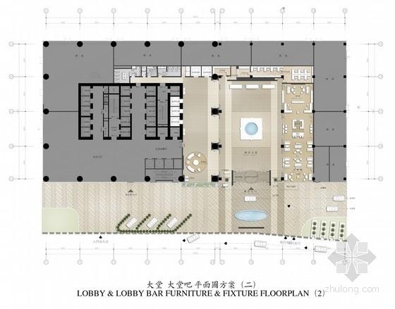 [湖南]国际豪华现代五星酒店室内设计方案