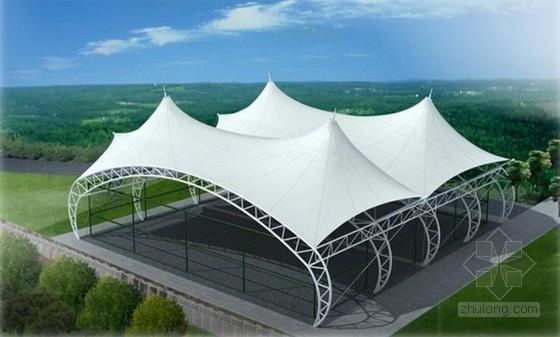 [QC成果]提高高空大面积波浪形双层PTFE膜安装质量