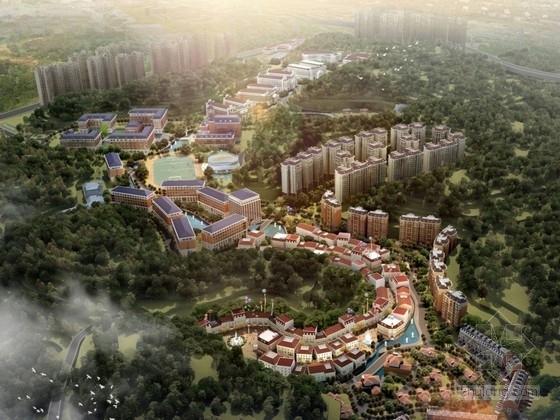 [湖南]简欧风格大学校园规划及单体建筑设计方案文本
