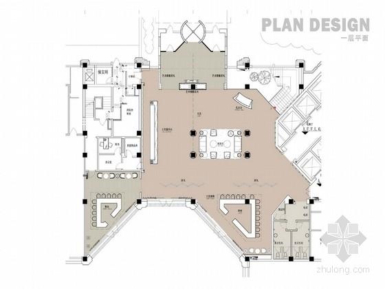 [天津]四星级品牌连锁国际商务酒店室内方案设计
