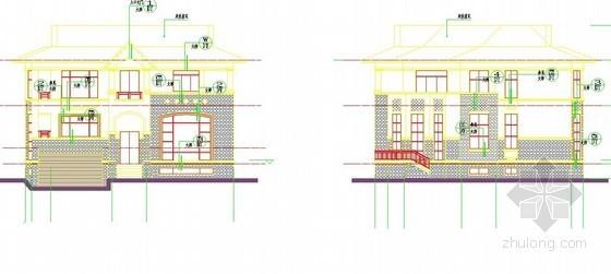 [广东]2013年某联排别墅94栋土建工程预算(CAD图697张+预算250页)