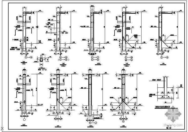 某地下室墙体大样节点构造详图(1)