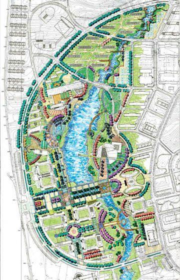湛江海洋大学景观设计方案