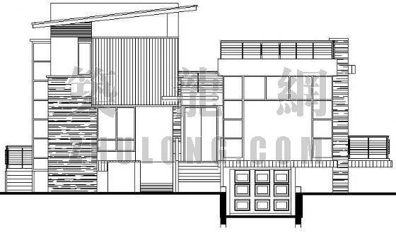 某现代别墅建筑施工图