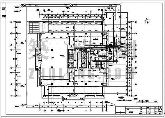 某二十三层综合办公楼给排水消防设计图