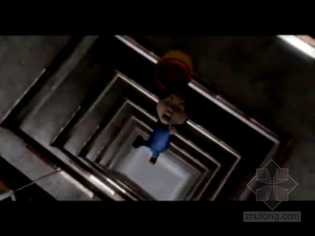 安全教育系列动画视频1(高空坠落事故)