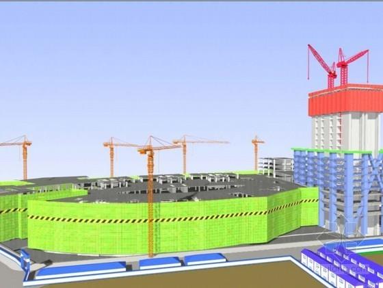 [广东]超高层钢框架核心筒结构地标建筑施工组织设计(600页三维效果图)