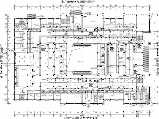 [贵州]办公综合楼空调通风设计施工图