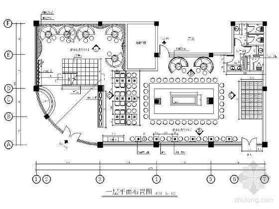 somewhere in time咖啡餐厅设计平面图