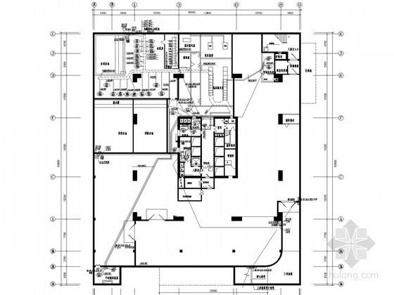 [广东]中高层商业办公综合体强弱电施工图