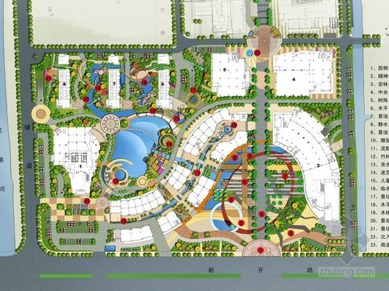 [南通]广场环境景观深化设计方案