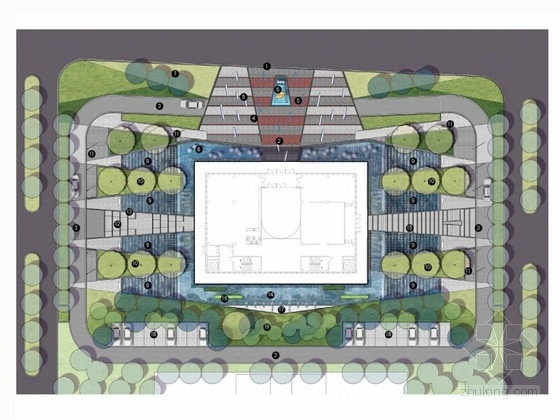 [辽宁]绿地展示中心及会所景观方案设计