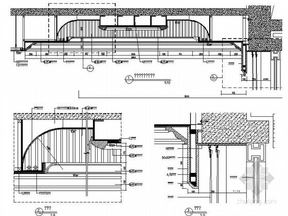 [成都]经典豪华三层别墅样板间室内装修图(含方案文本) 节点