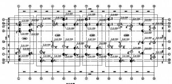 [毕业设计]六层框架学生公寓楼建筑结构施工图(桩基础)