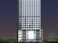 某二十五层办公综合楼建筑方案图(含效果图)