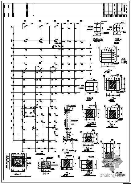 杭州某四星酒店改造结构设计图