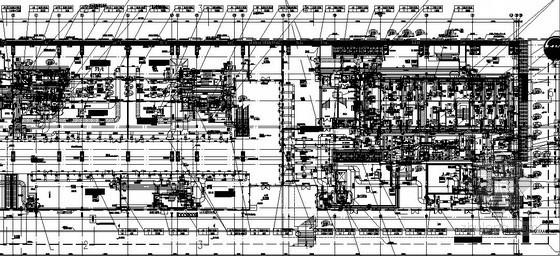 [上海]商业文化建筑暖通设计施工图(知名院图纸)