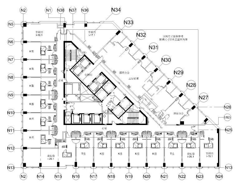 [广州]君悦酒店公共区|客房区完整竣工图