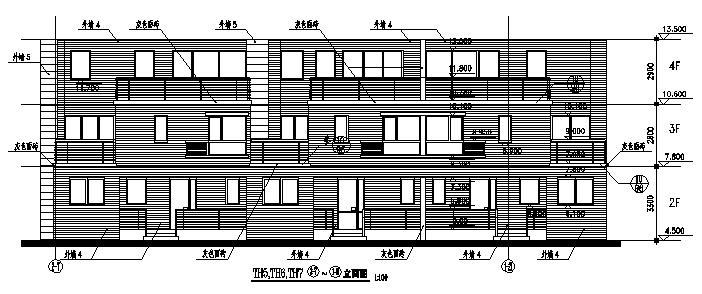高层塔式住宅建筑施工图(含水暖电全专业图纸)