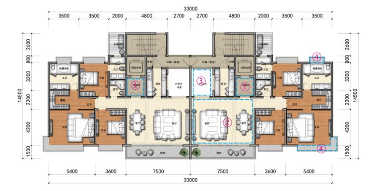 [河南]高层塔式住宅办公建筑设计方案文本(含教育配套)_11