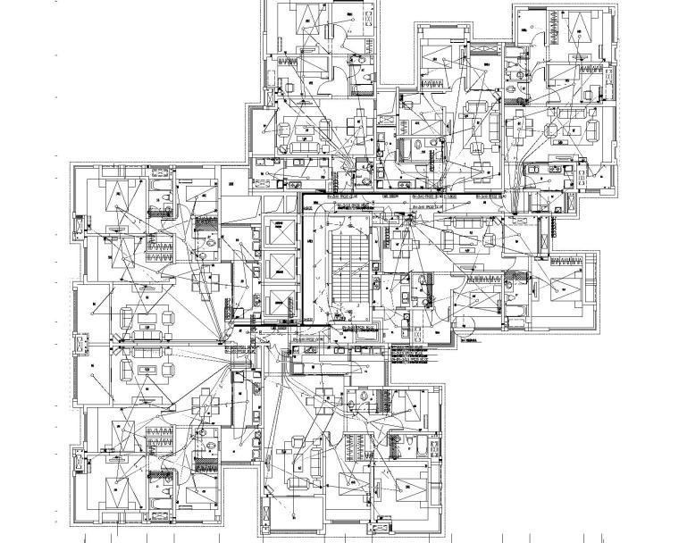 悠山郡施工图(含强电与弱电,节能备案,计算书)_2