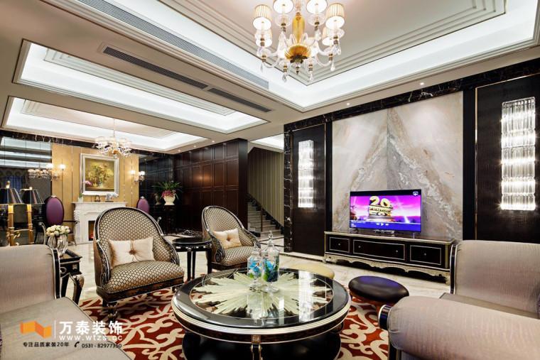 银丰悦珑府装修丨现代风格总会有大气的气质