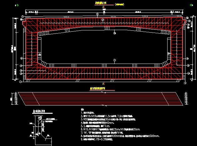 55米宽道路市政全套施工图v道路工程236张CAcad三角面怎么画三维图片