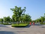 西安航天城文化生态园现代景观