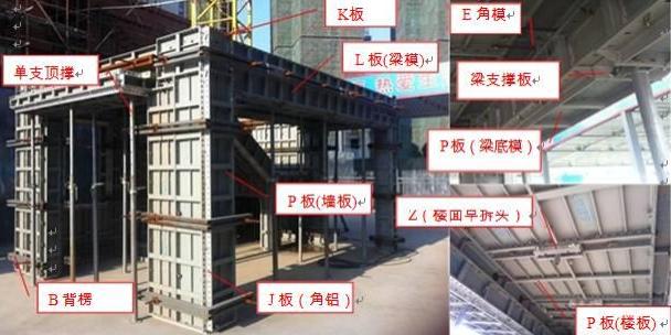 南昌万科铝合金模板施工操作指引