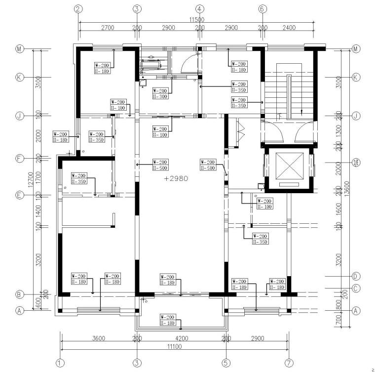 [河南]现代简约风复式楼层施工图、节点图