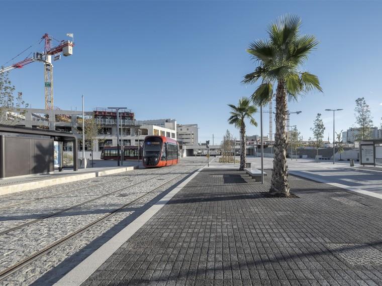 法国尼斯新综合联运枢纽中轴线-3