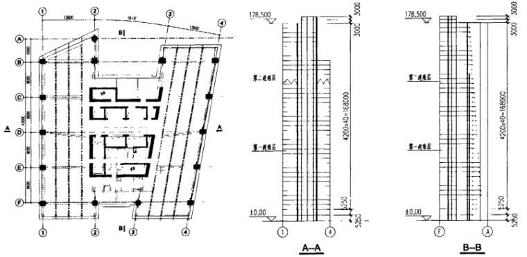 高宝金融大厦型钢混凝土框架一核心筒结构设计_1