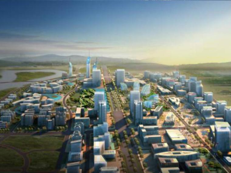 [四川]成都新区景观概念规划设计(生态,商业)