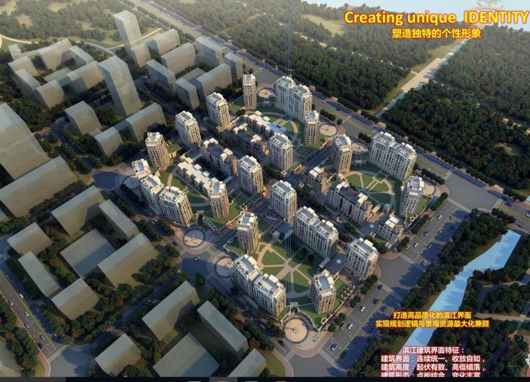 [上海]前滩某欧陆风格居住区建筑方案文本(PSD+151页)