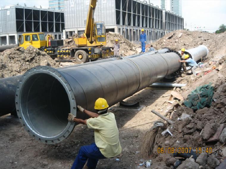 市政管道工程施工总结(82页)