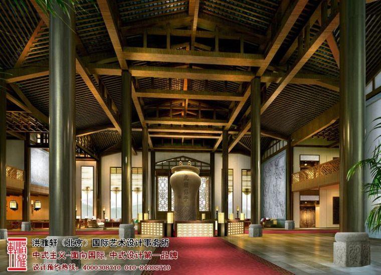 徐州古典中式酒店设计,体现舒适自在的休闲环境_1
