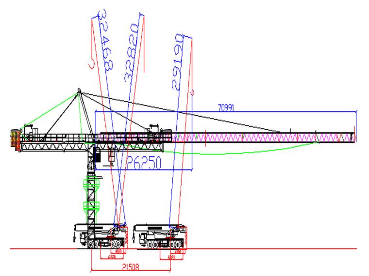 甘肃知名酒店QTZ7032塔吊安装施工方案